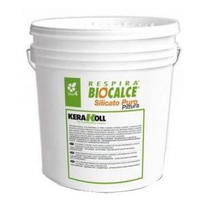 biocalce silicato puro pittura