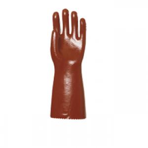gants pvc rouge